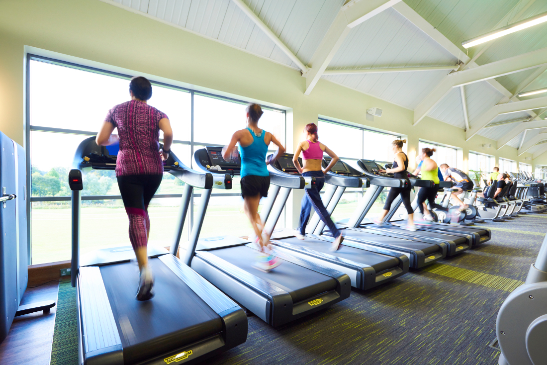 Selecting a health club